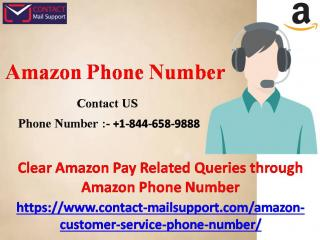 Clear Amazon Pay Related Queries through Amazon Phone Number