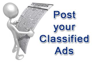 Free classified ads website. Free classified ads is an online ad site for real estate, automobiles, business opportunity, pets ads, etc