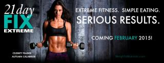 21 Day Fix EXTREME 3 DVDs 300 [km