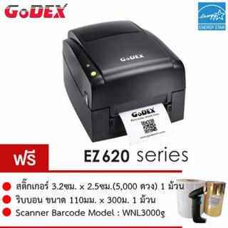 GODEX Thermal TTR Barcode Printer Model EZ620