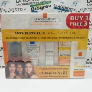La Roche-Posay Anthelios Ultra-Light Fluid SPF50+/ PPD42/ PA++++ 50 Ml**พร้อมของแถมในเซต**