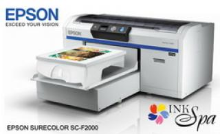 Printer EPSON F-2000 DTG (Direct To Garment) Promotion ราคาถูกสุดๆที่ Ink Spa
